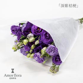 深紫色洋桔梗