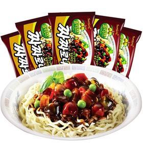 韩国三养炸酱干拌火鸡面方便面140g