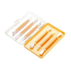 tescoma  翻糖蛋糕雕花工具6件套 烘焙定型造型笔塑形