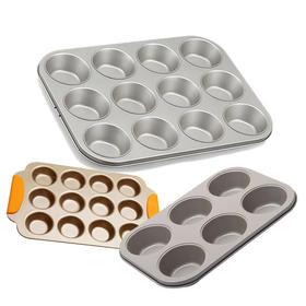 6连 12连麦芬蛋糕烤盘 玛芬蛋糕模具