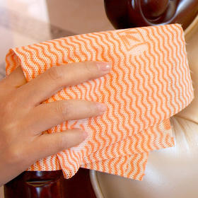 咔咔玛 加厚环保厨房抹布洗碗布 吸水吸油不沾油