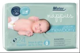 澳中发展 玛特初生儿纸尿片0码