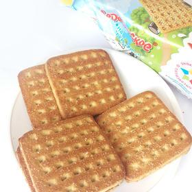 俄罗斯原装进口甜蜜农庄小牛奶香饼干220g(满洲里互贸区直发)