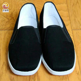 武当贡养生布鞋    棉布 纯手工缝制休闲养生布鞋
