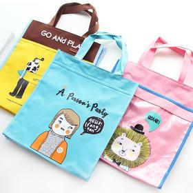 韩版文艺帆布包 学生手提包