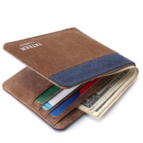 wish AE 男士新款钱包卡包 韩国创意