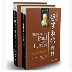 21世纪保罗书信辞典上下册