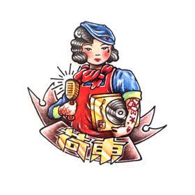 原创图 | 美式传统荷东 by 纹身师 K