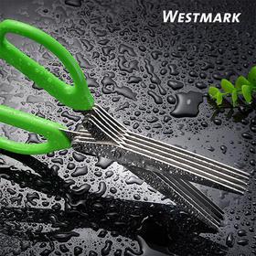 德国原装进口Westmark多功能剪刀切菜器厨房小工具不绣钢剪子