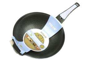 韩国直邮Kitchen-Art索莱尔陶瓷麦饭石不粘锅炒锅天然气单用 26cm