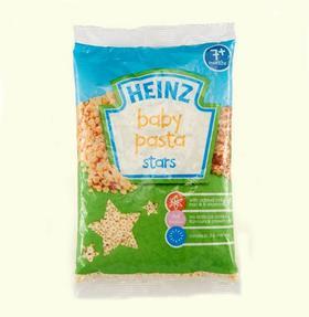 英国HEINZ/亨氏婴幼儿星星意面(7个月以上)(250g/包)