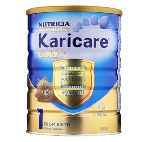 新西兰可瑞康Karicare奶粉金加强免疫1段(0-6个月)900g
