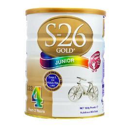新西兰S26惠氏金新生婴儿牛奶粉4段(3-6周岁宝宝)900g