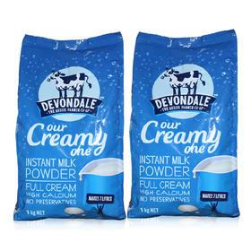 澳洲Devondale德运成人奶粉全脂速溶青少年中老年成人纯牛奶粉