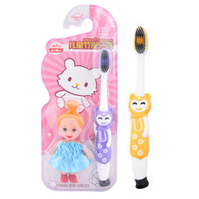【新品】新闻竹炭儿童牙刷   专为儿童设计 宝贝最爱