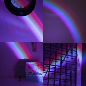 【包邮】韩国创意少女投影仪装饰彩虹灯 网红拍照道具灯   文具