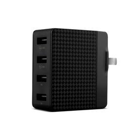 品胜 智能旅行充电器(全球充)魔幻黑 4USB插口