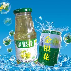 12瓶装340ml--德致金银花饮料