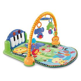 费雪健身架 婴儿玩具脚踏钢琴健身器游戏毯新生儿宝宝0-1岁W2621
