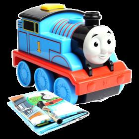 托马斯和朋友之手绘驱动托马斯DMY86 小火车沿绘画路线行驶套装