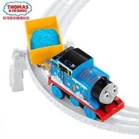 正品托马斯电动系列之雪地大冒险轨道套装DHC78 勇宝托马斯小火车
