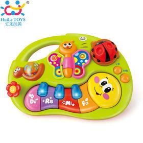 汇乐早教机儿童手指启蒙电子琴儿童多功能故事宝宝电子琴音乐玩具