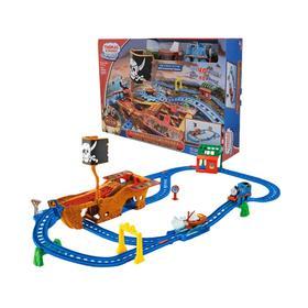 托马斯和朋友迷失宝藏玩具火车 儿童电动小火车航海轨道套装CDV11