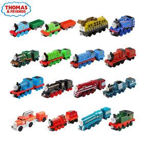 费雪托马斯小火车 合金小火车头套装可连接挂钩轨道儿童玩具车