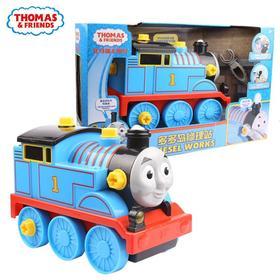 托马斯和朋友之大型电动托马斯火车头多多岛修理站发声玩具