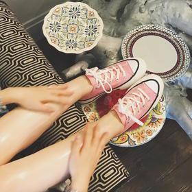 日版限定 匡威/Converse Chuck Taylor Material OX addict vibram 成瘾者系列 低帮/高帮 帆布板鞋
