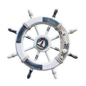 地中海风格船舵装饰