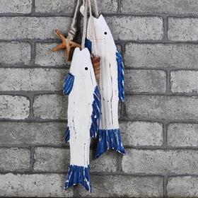 地中海鱼形挂饰
