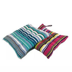 彩色个性条纹坐垫