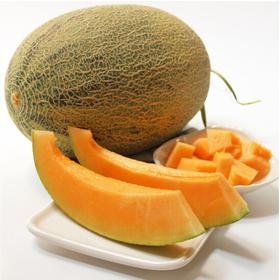 西州蜜哈密瓜25号 1个装 1.25-1.5kg 新鲜水果