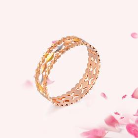 拾光 18K玫瑰金(三色)戒指