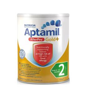 Aptamil爱他美Allerpro深度水解防过敏腹泻防湿疹打嗝无乳糖婴儿奶粉900g*3罐特价