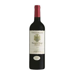 科瑞丝曼黄牌120周年庆红葡萄酒,法国 波尔多AOC Kresmann Monopole Rouge 120 Anniversary Edition, France Bordeaux AOC