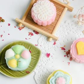 百钻冰皮月饼专用粉diy制作月饼材料原料 烘焙冰皮月饼预拌粉200g