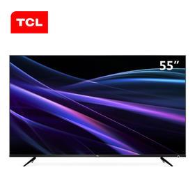 【新品】TCL 55P6 55英寸无缝超轻薄人工智能急速观影Conchs sound音响电视