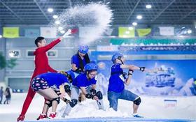 【三只熊冰雪王国滑雪特价】妈网特惠只需88元就可享受门市价218元的滑雪福利啦!