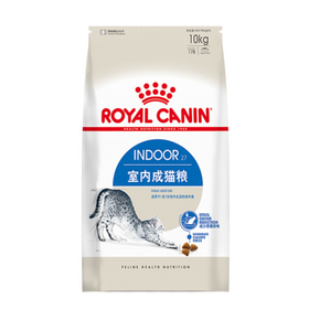 皇家(royal canin) 猫粮 室内成猫粮 Indoor27-12月龄以上 10kg