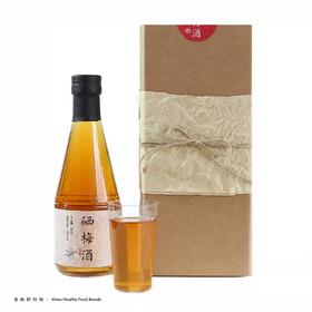 不二食味 富硒青梅酒 单瓶礼盒装 精选完熟梅子 五年陈 300ml
