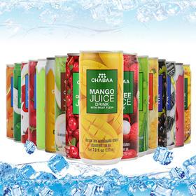 泰国进口果汁饮料芭提娅Chabaa橙汁230ml