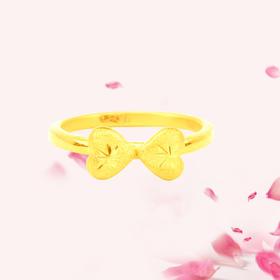 心语 3D足金戒指