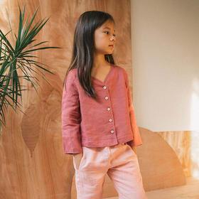 纳桔-苎麻上衣裤子