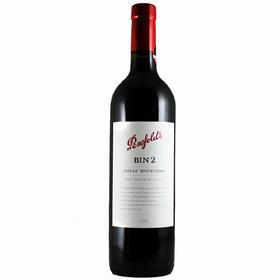 澳洲 奔富BIN2 西拉子慕合怀特 原瓶进口红酒 干红葡萄酒
