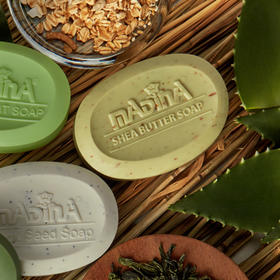 超值~买一赠一!限量1000份!美国MADINA/玛蒂娜纯植物无添加洗脸皂100g/块  5种香型 赠品随机发 下单即送打泡网