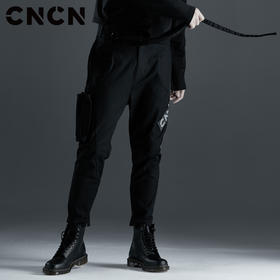 CNCN男装 品牌字母休闲裤 街头潮牌工装裤 青年街头裤子CNCK39019