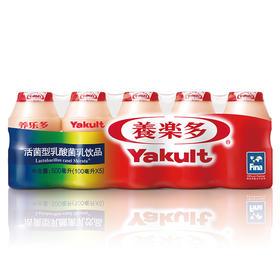 养乐多活性乳酸菌乳100ml5 饮品