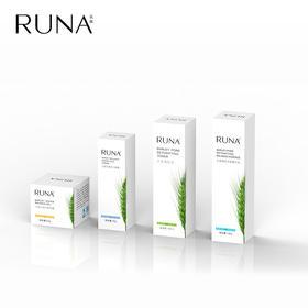 RUNA大麦系列清肌水丨啫喱丨眼霜丨精华乳丨洁面深层清洁补保湿控油平衡提拉紧致水去眼袋 大麦套装